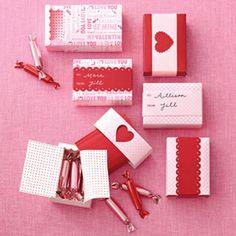Valentines Mini Match Box {shop sweet lulu}