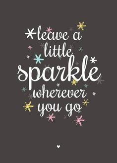 Petite Louise Poster Sparkle
