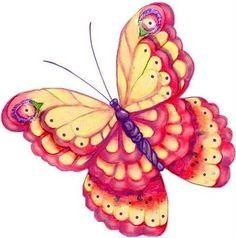 Dibujos de mariposas para imprimir-Imagenes y dibujos para imprimir