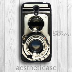 This might have to be mine! - Vintage Galaxy s4 Case Twin Reflex Camera Retro by aestheticase, $9.99