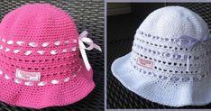 Virkat och stickat. Beskrivningar,mönster och inspiration Crochet Beanie Hat, Beanie Hats, Crochet Hats, Baby Barn, Chrochet, Baby Knitting Patterns, Diy And Crafts, Sewing, How To Wear
