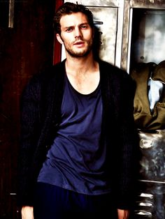 """""""Jamie Dornan photographed by Alex Bramall for The Observer (x)"""""""