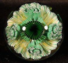BORO GLASS MARBLE (MARBLES) ROUTE 66 GLASS WORKS - RICHARD HOLLINGSHEAD II