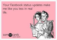 Get a funny take on today's popular news, entertainment, lifestyle, and video content -- all written by the people who bring you those funny ecards. Facebook Status Update, Teen Movies, Someecards, News Today, Real Life, Lol, Entertaining, Memes, Laughing