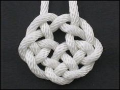 ▶ How to Tie the Rising Sun Knot by TIAT - YouTube