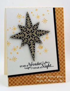stampin up star of light | Star of Light by Diana Gibson - Cards and Paper Crafts at ...