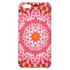 Pink heart pattern case for iPhone 5C