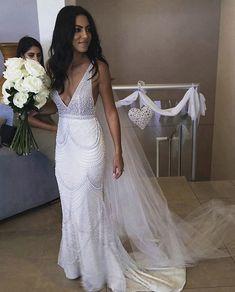 9866c95389 Jane Hill Bride gown with embellishments  thebridaljourney Wedding Dress  Trends