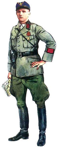 IAN sergeant, UPA Ukrainian Army 1944, pin by Paolo Marzioli