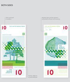United World Bank Money by Lili Köves, via Behance