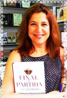 """¡Atención Cádiz!. Mañana sábado, nuestra escritora Ana Romero recibe el #PremioAgustínMerello en la #VeladaPrensa de la @APCadiz por su bestseller """"Final de partida"""" http://kcy.me/25a16"""