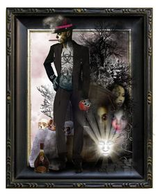 """""""Baron Samedi"""" by theamaia ❤ liked on Polyvore featuring art"""