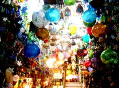 Arabic Glass Lanterns