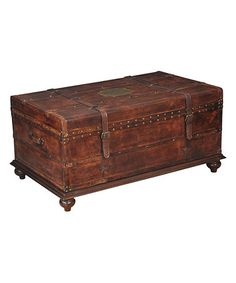 Love this Laramie Trunk Coffee Table on #zulily! #zulilyfinds