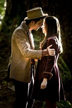 """Alice and the Hatter (Andrew Lee Potts) from SyFy's """"Alice"""" LOVE this movie. . . then they took it off Netflix. :("""