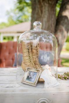 Vintage Wedding Shoes   Eliza Morrill Photography on @glamourandgrace via @aislesociety
