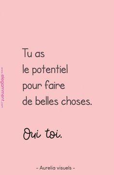 Petits mots d'encouragement - #11 { pastel } - ⇥ Aurelia Visuels ⇤ Source de la citation n°2 : Traduction de