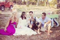 Chic Country / Outdoor Boho Wedding Inspiration