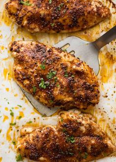 Oven Baked Chicken Breast & Knife Giveaway! | RecipeTin Eats