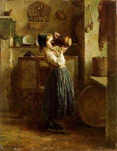 "Pierre Édouard Frère  ""Helping Herself"""
