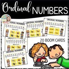 Boom Cards - Ordinal Numbers