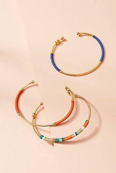 Zanzibar Cuff Bracelet Set