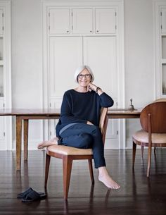 """Fisher says she stopped designing twenty years ago: """"I've been leading from behind."""""""