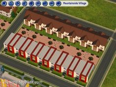 Terraced (rowhouses) | The Sims fan page