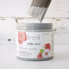 Country Chic Paint - Black and Greys — Two Old Souls Shades Of Black, Black And Grey, Clay Paint, Paint Line, Old Soul, Pebble Beach, Country Chic, Vintage Pink, Furniture Makeover