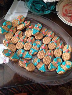 Bikini & flip flop nutter butter cookies