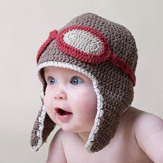 wintermützen baby aviator