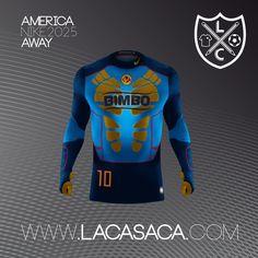 Nike 2025 Fantasy Kits - América Away