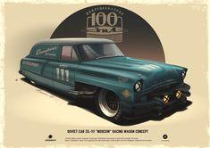 100%™ ZiL 111 | Los diseños de coches de Andrey Tkachenko - Diseño Industrial