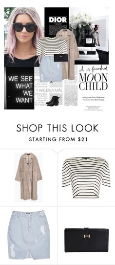 """""""06/09/2016"""" by dunoni ❤ liked on Polyvore featuring Christian Dior, Zara, Alexander Wang and SJYP"""