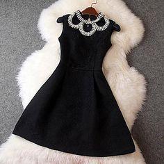 Women's Sweet Sleeveless Dress(More Colors) - USD $ 23.99