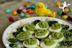 Jajka na zielono