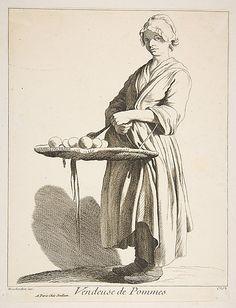 Apple Seller Anne Claude Philippe de Tubières, Comte de Caylus (French, 1692–1765) Date: 1746