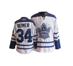Toronto Maple Leafs James Reimer 34 White Authentic Jersey Sale