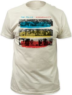 The Police Synchronicity Album Cover Artwork Men's T-shirt