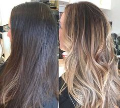 Balyage Long Hairstyles with Layers