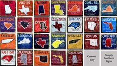Simply Southern Signs-Gallery - College Cities