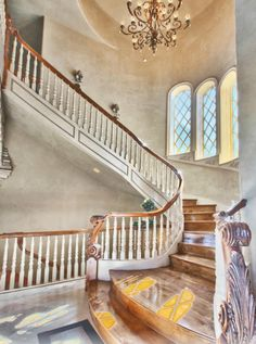 Staircase Marble Stairs, Stone Mansion, Mansions For Sale, Square Feet,  Stairways,