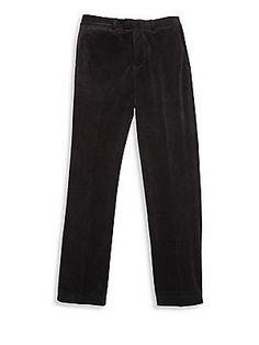 Ralph Lauren Little Boy's Velvet Pants - Polo Black