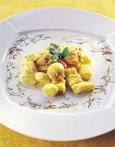 Gnocchi di patate con capesante