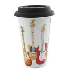 Sugarloaf - Home to an ever changing range of unusual gifts and homeware, perfect for all occasions. Unusual Gifts, Travel Mug, Rock And Roll, Rolls, Mugs, Tableware, Guitars, Dinnerware, Rock Roll