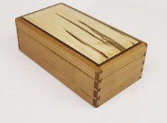 Made To Order Medium Handmade Wood Box Jewelry by WatkinsWoodWork