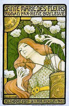 Art Nouveau ~ Sainte Marie Des Fleurs ~  Paul Berthon