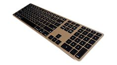 Matias Wireless Aluminum Keyboard - Gold Matias