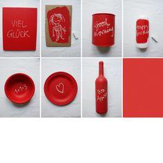 Allrounder: Tafelfarbe Flasche mit Namen zb