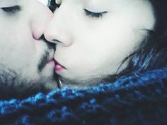 One kiss one million of feelings